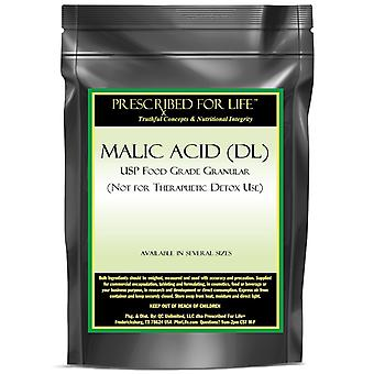 Malic Acid (DL)-USP Food Grade Granular (For Flavoring Use Only)
