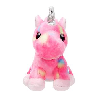 "Sparkle Tales 7"" Unicorn Rainbow Plush Toy"