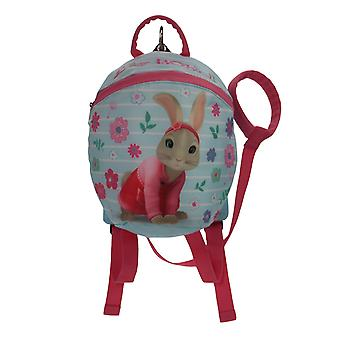 Peter Rabbit Girls Lily Bobtail Blue & Pink Children's Backpack Age 1-4