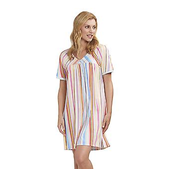 Féraud 3191320-16397 Mujeres's High Class Multicolour Stripe Night Gown Nightwear Nightdress Nightdress Nightdress Nightdress Nightdress Nightdress Nightdress Nightdress Nightdress Nightdress Nightdress
