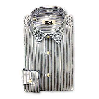 Ingram shirt in blue stripes