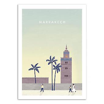 Art-Poster - Marrakech - Katinka Reinke