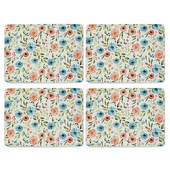 Cooksmart Country Floral Set of 4 Placemats