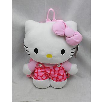 Plush Backpack - Hello Kitty - Pink Heart Soft Doll 68388