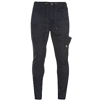 No Fear Mens Cuffed Camo Cargo Pants Casual Bottoms