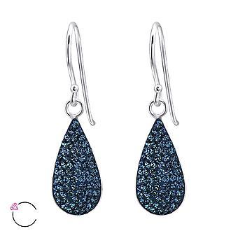 Droppformad kristall från Swarovski® - 925 Sterling Silver Örhängen - W24637X