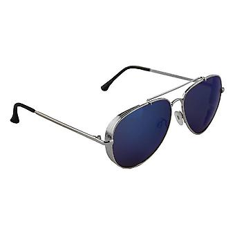 Men's Sunglasses and Sunglasses Women's Pilot - Silver/Lichtblauw1972_8