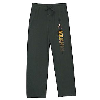 Aquaman Trident Name Logo Unisex Sleep Pants