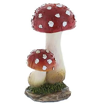 Garden Fungi Double Red Top Large
