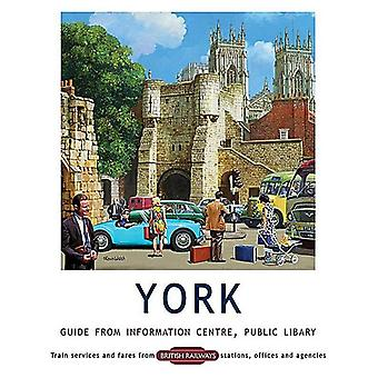 York Walls, Information Centre Guide, Small Metal Sign 200mm x 150mm (og)