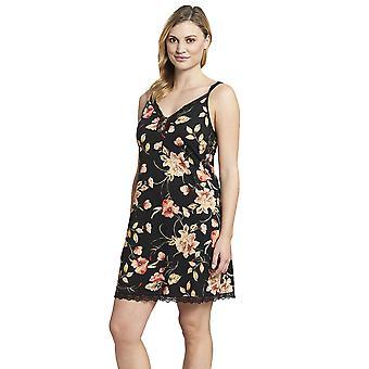 Rosch 1193618-16403 vrouwen ' s nieuwe Romance zwarte bloemen katoenen Pyama
