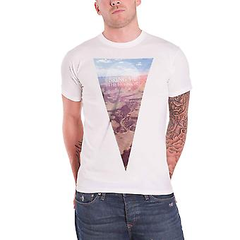 Traga-me o horizonte camiseta Canyon banda logo oficial Mens branco