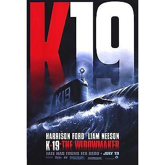 K-19: The Widowmaker (Double-Sided Advance) Original Cinema Poster