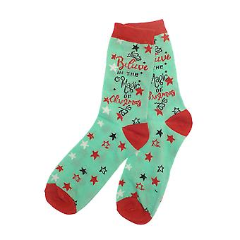 Country Club Damen Xmas Socken, Magie