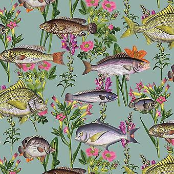 Lagoon Fish Wallpaper Holden