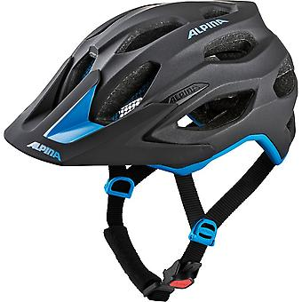Alpina carapace 2.0 bike helmet / / black/blue