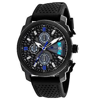 Oceanaut Men's Kryptonite Black and Grey Dial Watch - OC2321