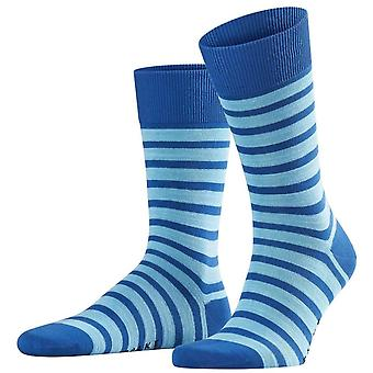 Falke Even Stripe Socken - Paris Blau