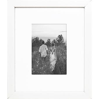 Photo Frame Oxford Picture Poster Wood Effect Black White Wall Mounted
