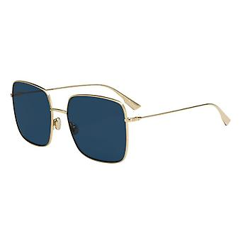 Dior Stellaire 1 LKS/A9 Gold/Blue Sunglasses