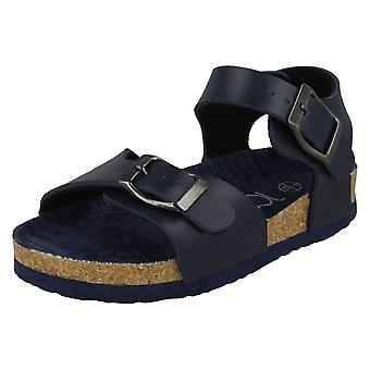 Boys JCDees Buckle Ankle Strap Sandals N0058