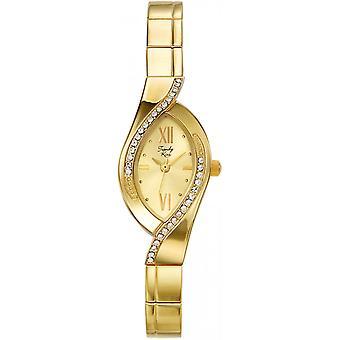 Watch Trendy Kiss TG3747-07 - woman oval steel gold