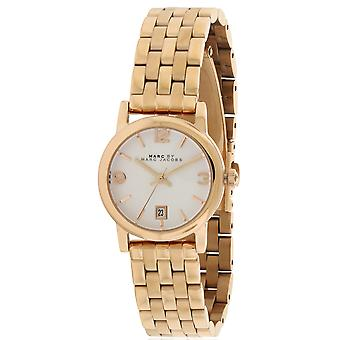Marc Jacobs MBM3438  Female Rose Gold Stainless Steel 26MM Quartz Analog Watch
