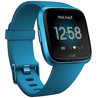 Fitbit Versa Lite Health & Fitness Smartwatch with Heart Rate, 4+ Day Battery & Water Resistance - Marina Blue