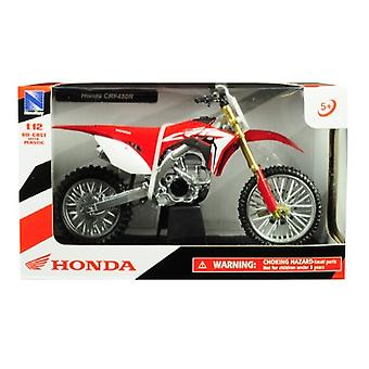 Honda CRF450R Red 1/12 Diecast Motorcycle Model by New Ray