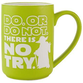 Hallmark Star Wars Do Or Do Not Yoda Mug