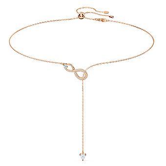 Swarovski halsband 5521346-oändlig hänge guld halsband och kvinnors Chain
