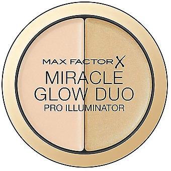 2 x Max Factor Miracle Glow Duo Pro Illuminator - 10 Light