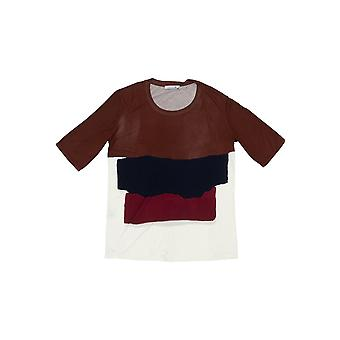 Bordeaux Lacoste Damen T-shirt