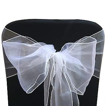 23-quot; x 108'quot; Organza Table Runners Wider et Fuller Sashes