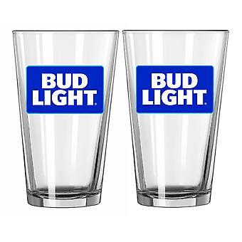 Copos de cerveja Bud Light 2 Pack