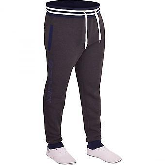 D Rock Mens D Rock Fashion Jogging Bottoms Jogger Combat Casual Fleece Tracksuit Jog Pants