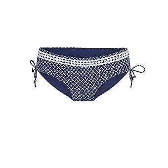 LingaDore 5109SH-17 Women's Serra Blue Print Bikini Short
