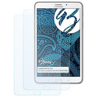بروني 2x شاشة حامي متوافق مع سامسونج غالاكسي تبويب 4 8.0 LTE/3G T335 فيلم واقية