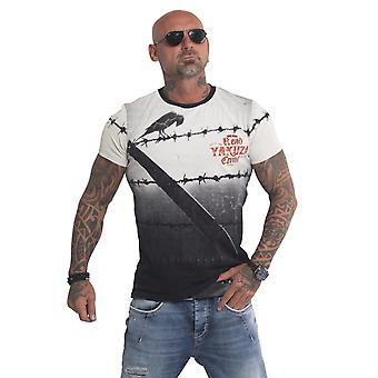 YAKUZA Mäns T-shirt Läs Crow