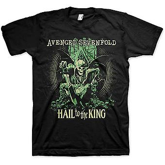 Avenged Sevenfold A7X Hail To The King En Vie Official T-Shirt Unisex