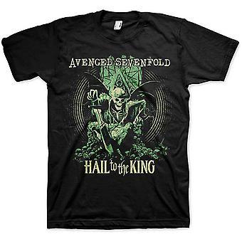 Avenged Sevenfold A7X Hail To the King En Vie Virallinen T-paita Unisex