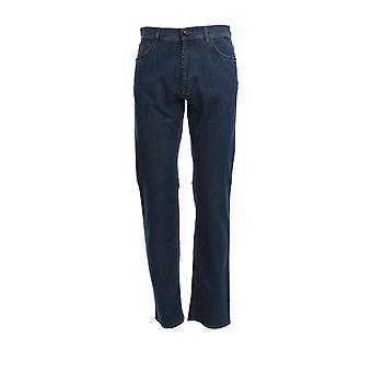 Corneliani 854jk50120159007 Men's Blue Cotton Jeans