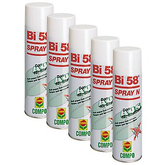 Sparsomme: 5 x COMPO Bi 58® Spray N, 400 ml