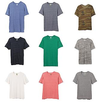 Alternative Apparel Mens Eco Jersey Crew T-shirt