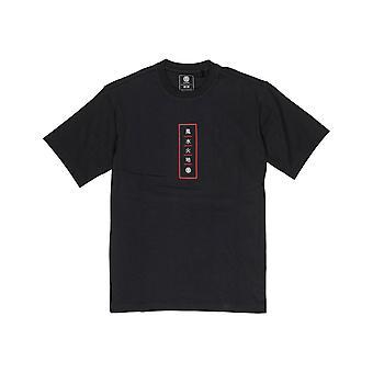 Element Arata Short Sleeve T-Shirt in Flint Black
