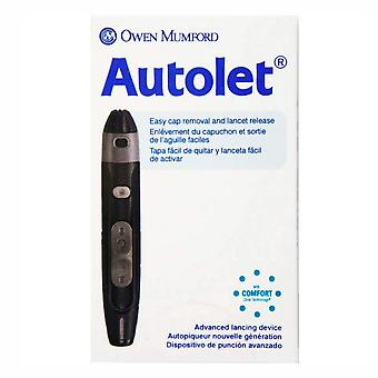 Autolet advanced lancing device, 1 ea