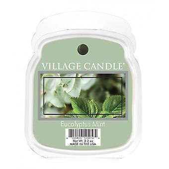 Kylän kynttilävahan sulatuspakkaukset käytettäväksi sulatortun & Öljypolttimet Eukalyptus Mint
