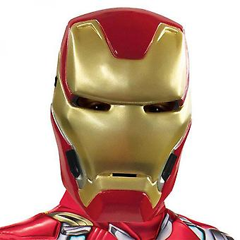 Iron Man Youth Costume Half Mask