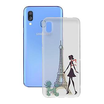 Samsung Galaxy A40 Contact Flex France TPU Mobile Phone Protection