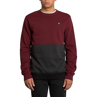 Volcom Forzee Sweatshirt in Cabernet